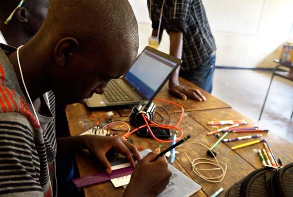 Learning new skills in robotics.
