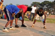Men's Basketball in Gulu
